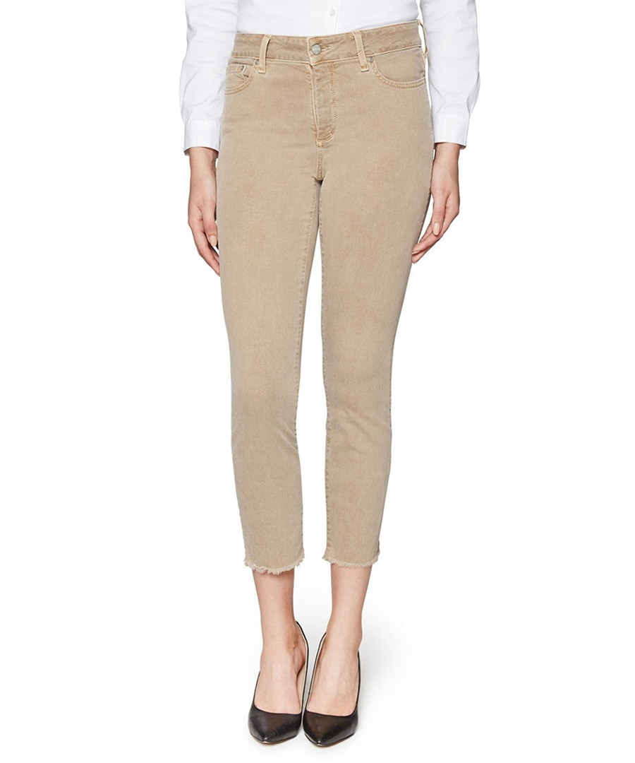 Sheri beige cotton blend crop jeans Sale - NOT YOUR DAUGHTERS JEANS