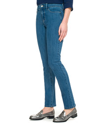 Samantha blue cotton blend jeans