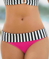 Only pink print bikini briefs