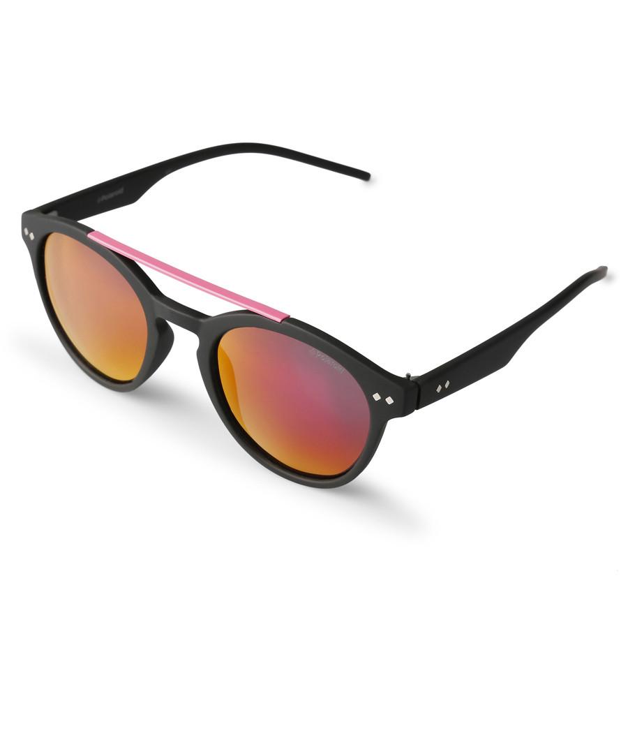 Black & orange lens sunglasses Sale - polaroid