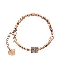 Parade rose gold-tone diamond bracelet