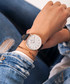 Navy blue & white leather watch Sale - Paul McNeal Sale