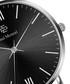 Silver-tone & black steel mesh watch Sale - Paul McNeal Sale