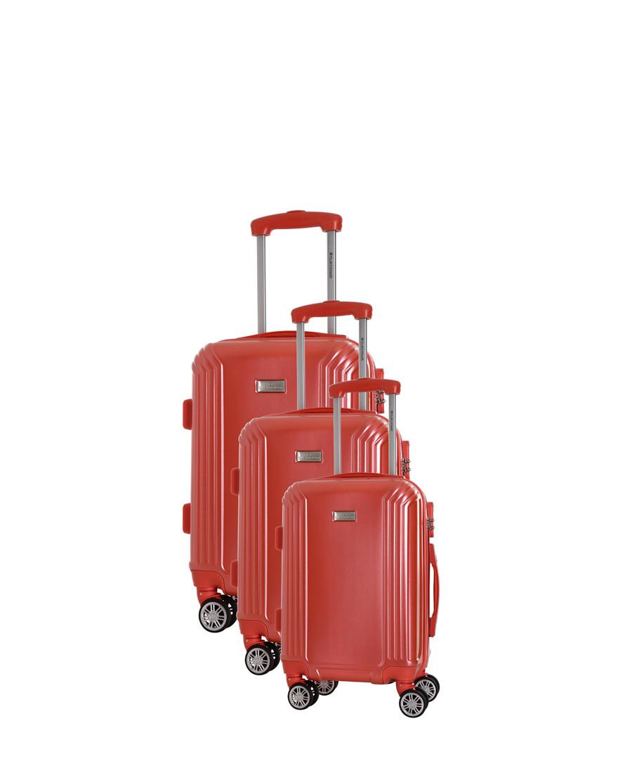 3pc coral spinner suitcase nest Sale - platinium