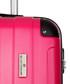 3pc fuchsia spinner suitcase nest Sale - platinium Sale
