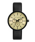 Black leather strap tri-dial watch Sale - Ted Baker Sale
