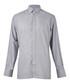 Grey pure cotton long sleeve shirt  Sale - hackett london Sale