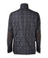 Charcoal pure cotton quilted jacket  Sale - hackett london Sale
