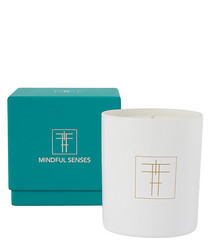 Healthy sage & lemon scented candle