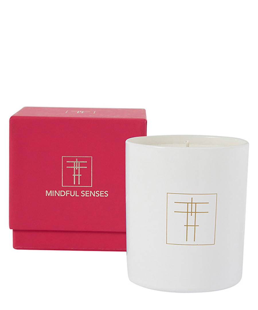 Heartfelt peach & lily scented candle Sale - Mindful Senses