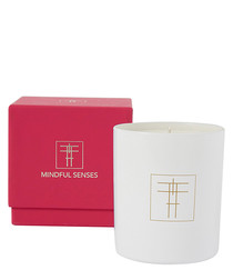 Heartfelt peach & lily scented candle
