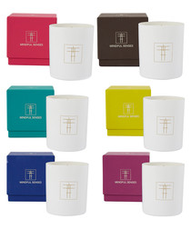 6pc assorted scented candle set