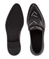 Staples black leather print loafers Sale - Christopher Kane Sale