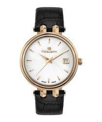 Rayon de Lune gold-tone steel watch
