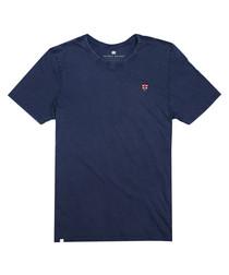 Indigo pure cotton T-shirt