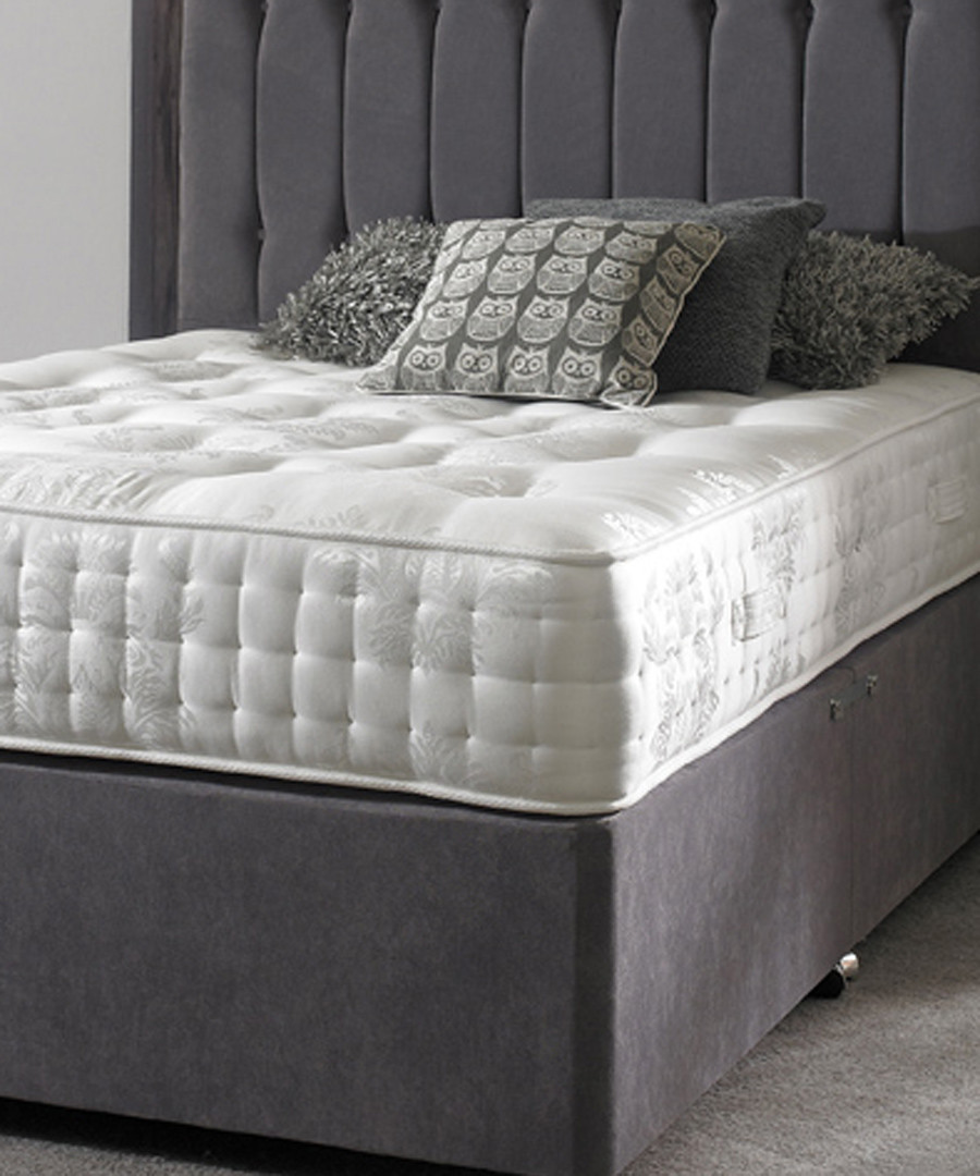 White single firm pocket sprung mattress Sale - luxury mattress collection