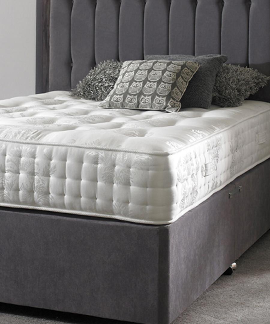 White double firm pocket sprung mattress Sale - luxury mattress collection