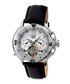 Lennon silver-tone & leather watch Sale - heritor automatic Sale