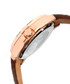 Norton brown moc-croc leather watch Sale - heritor automatic Sale