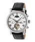 Winston silver-tone leather watch Sale - heritor automatic Sale