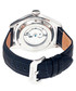 Barnes silver-tone & navy leather watch Sale - heritor automatic Sale
