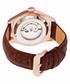 Barnes dark brown moc-croc watch Sale - heritor automatic Sale