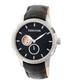 Callisto silver-tone & black watch Sale - heritor automatic Sale