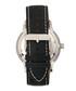 Landon silver-tone & black watch Sale - heritor automatic Sale
