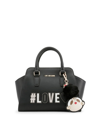 a73853e5072 Black patch motif trapeze grab bag Sale - love moschino Sale