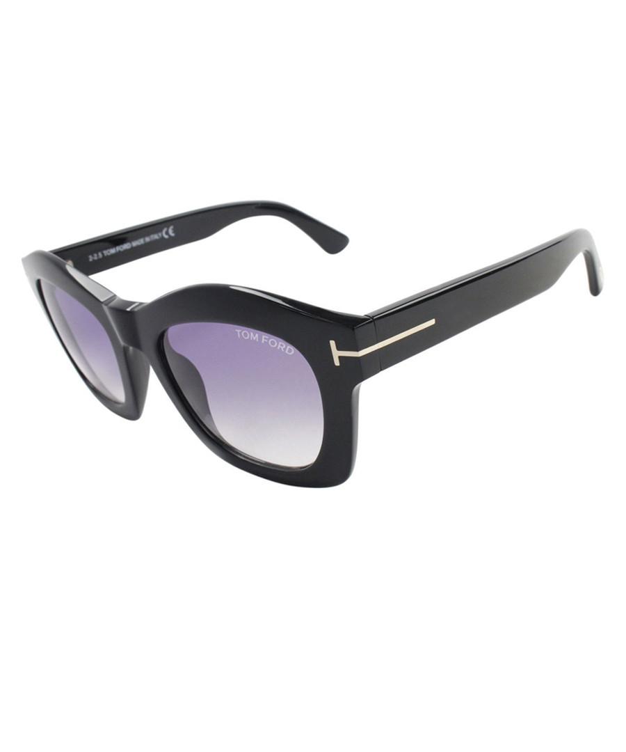 cbea55bcf221 Black thick frame sunglasses Sale - TOM FORD
