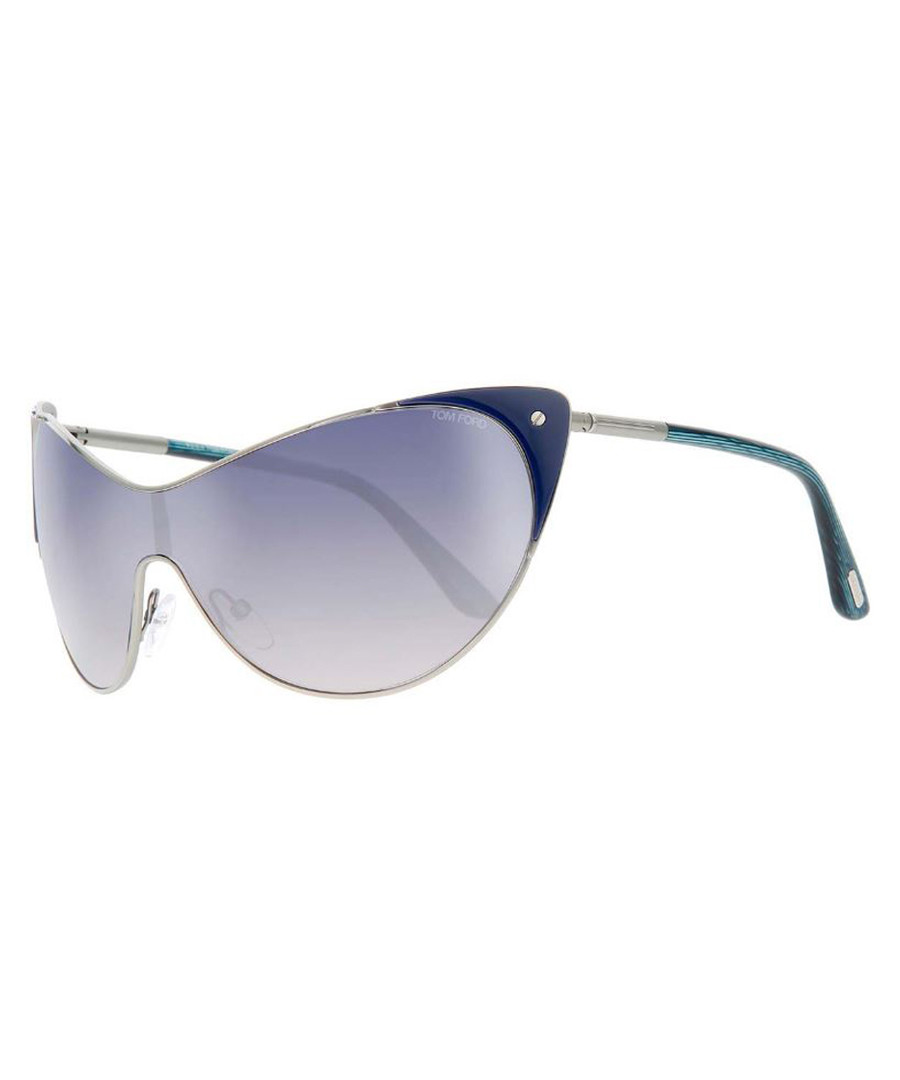 Turquoise & blue gradient sunglasses Sale - tom ford