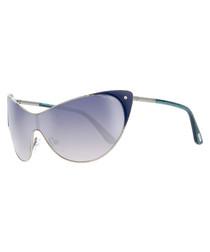 Turquoise & gradient blue sunglasses