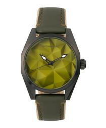 M59 olive steel watch