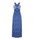 Navy stripe strappy maxi dress Sale - iska Sale