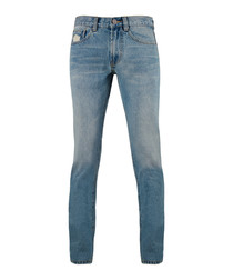 Men's XO blue denim jeans