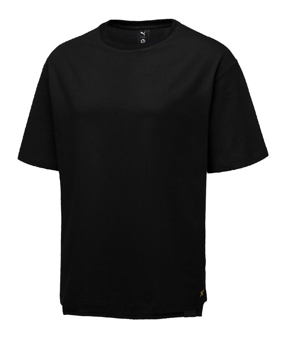 Black pure cotton T-shirt Sale - puma