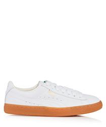 LFS white & tan sneakers