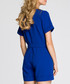 Royal blue short sleeve playsuit Sale - made of emotion Sale