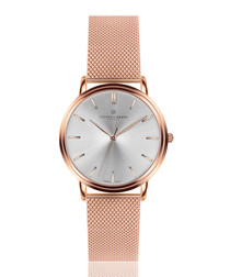 Breithorn rose gold-tone mesh watch