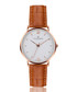 Dent Blanche ginger leather watch Sale - frederic graff Sale