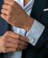 Silver-tone steel toggle close cufflinks Sale - monomen Sale