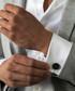 Black steel toggle close cufflinks Sale - monomen Sale