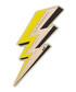 Lightning Bolt gold goatskin patch Sale - anya hindmarch Sale