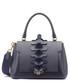 Apex Small indigo leather satchel Sale - anya hindmarch Sale
