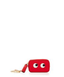 Eyes red goatskin coin purse