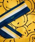 Crowded Wink yellow silk scarf 15 x 180cm Sale - anya hindmarch Sale