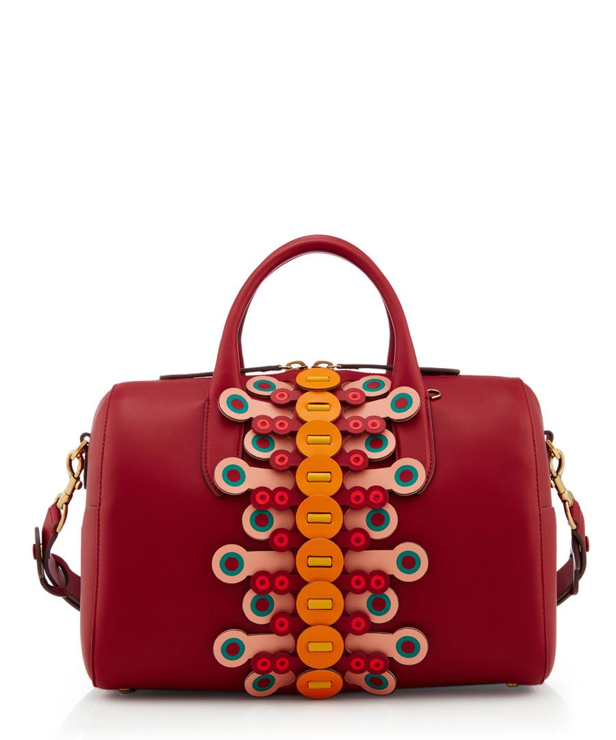 Vere Barrel red lambskin grab bag Sale - anya hindmarch