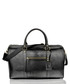 Black leather holdall Sale - woodland leathers Sale