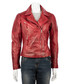 Women's red nappa jacket Sale - woodland leather Sale