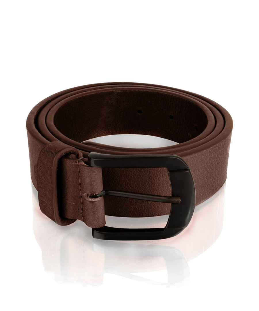 Men's burgundy leather belt Sale - woodland leather
